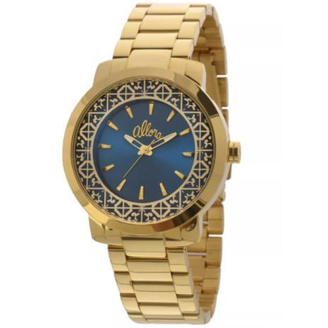 Relógio Feminino Allora Al2035eyz 4a Dourado - Relógio Feminino ... 812a8f9e9f