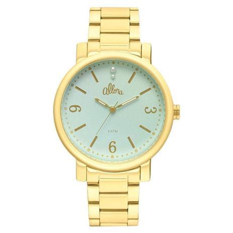 153a77f210f Relógio Feminino Allora Analógico AL2035EYW 4A - Dourado - Relógio ...