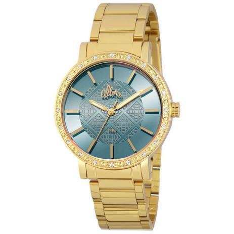 25d43b2df72 Relógio Feminino Allora Analógico AL2035FHL 4A - Dourado - Relógio ...