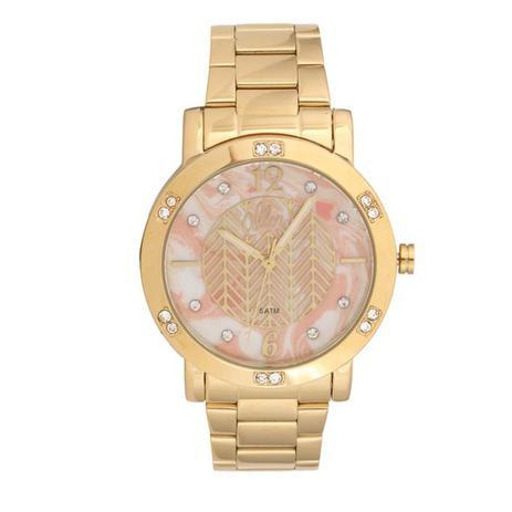 f3dddcc9036 Relógio Feminino Allora Analógico AL2036FLI 4L Dourado - Relógio ...