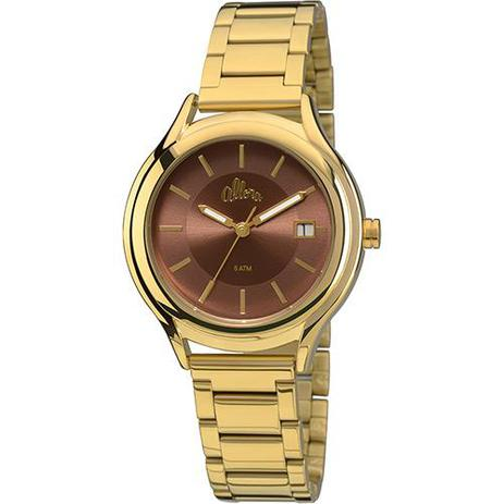 2444d2e0617 Relógio Feminino Allora Analógico Simples Encontro Al2115ah 4m ...