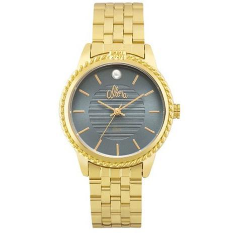 66a8cbedc78 Relógio Feminino Allora Ao mar Dourado AL2035FKV 4A - Relógio ...