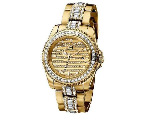 cd600e9f689 Relógio Feminino Ana Hickmann Analógico - AH 28197 H - Relógio ...