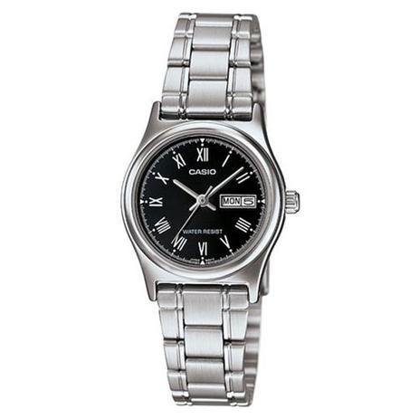 0361bb14df8 Relógio Feminino Analógico Casio LTP-V006D-1BUDF - Prata - Casio ...