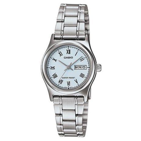 6105e59cb79 Relógio Feminino Analógico Casio LTP-V006D-2BUDF - Prata - Relógio ...