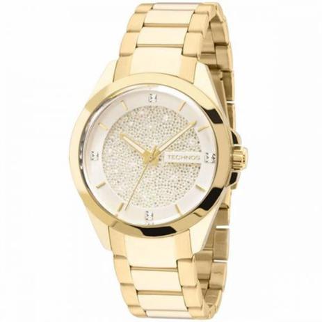 Relógio Feminino Analógico Technos 203AAA 4K - Dourada - Relógio ... 2cabf6ba20