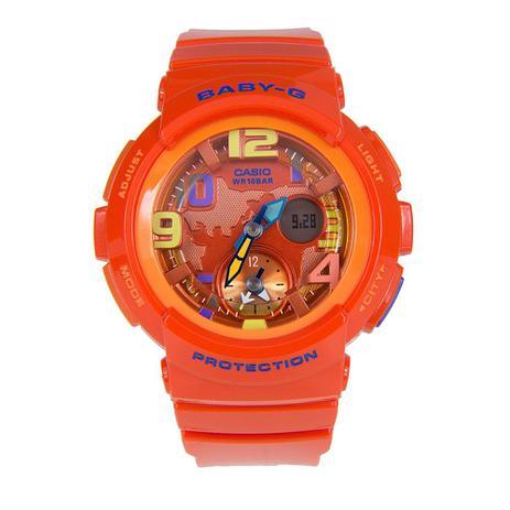 398c4842fad Relógio Feminino Baby-G Analógico Digital BGA-190-4BDR - Casio ...