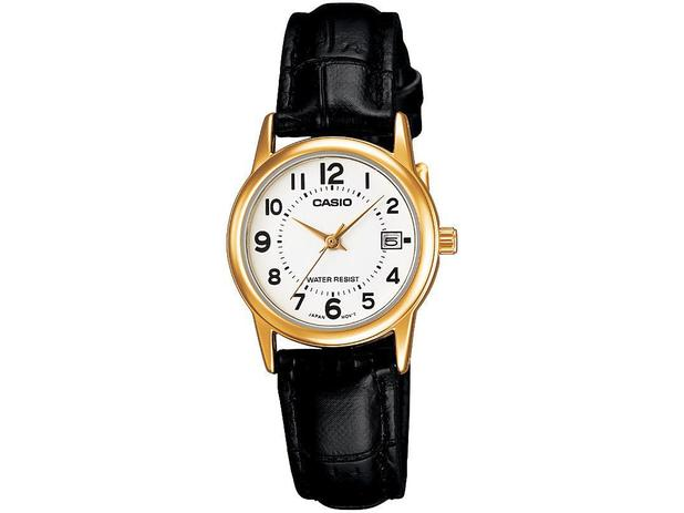 5fb7dfeefd0 Relógio Feminino Casio Analógico - Casio Collection LTP-V002GL-7BUDF ...