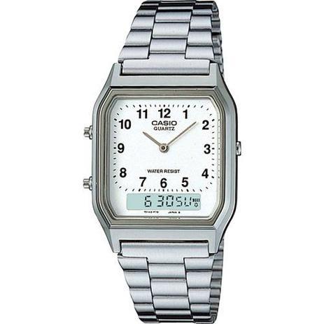 9f5d96357 Relógio Feminino Casio Analógico Digital Social AQ-230A-7BMQ ...