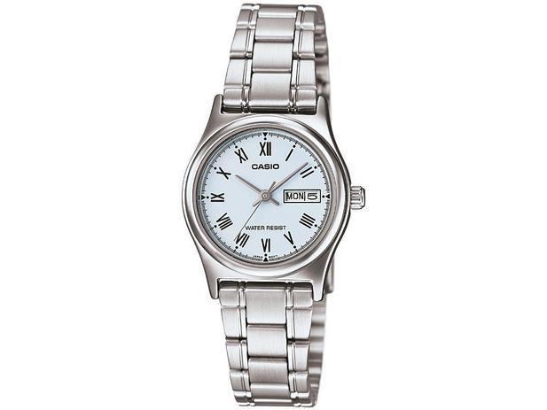 f3cc62f97be Relógio Feminino Casio Analógico - LTPV006D2BUDF - Relógio Feminino ...