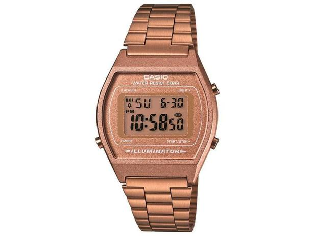 f2119f1ebb4 Relógio Feminino Casio B640WC-5ADF - Digital Resistente a Água Calendário  Cronômetro
