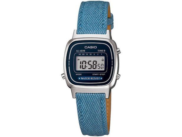 89c7a4c9d56 Relógio Feminino Casio Digital Cronômetro Vintage - LA670WL-2A2DF ...