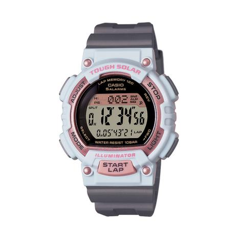 453f10b9016 Relógio Feminino Casio Digital Esportivo STL-S300H-4ADF - Relógio ...