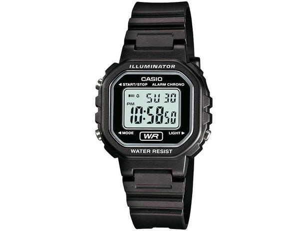 18f040536f6 Relógio Feminino Casio Digital - LA-20WH-1ADF - Relógio Feminino ...