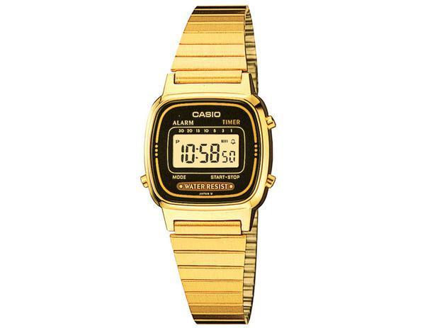 cc7f916b722 Relógio Feminino Casio Digital - LA670WGA-1DF - Relógio Feminino ...
