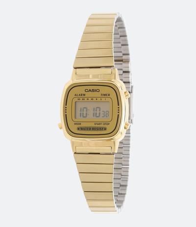 79826f18fa0 Relógio Feminino Casio Digital Social LA670WGA-9DF - Relógio ...
