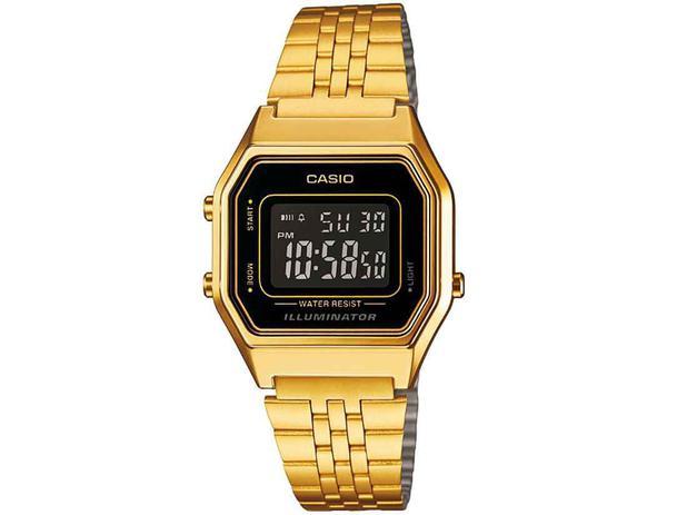 9279afd5728 Relógio Feminino Casio Digital - Vintage LA680WGA-1BDF - Relógio ...