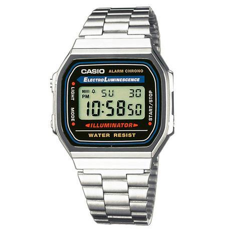 9a1c0057753 Relógio Feminino Casio Vintage Digital A168WA-1WDF - Relógio ...