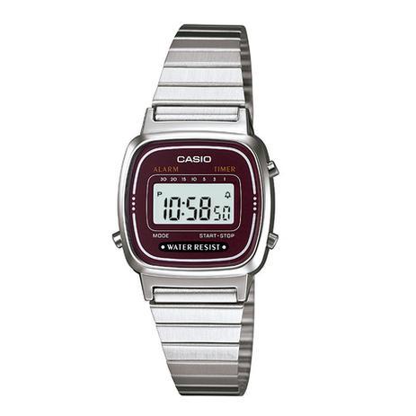 c567f3b24e020 Relógio Feminino Casio Vintage Digital Fashion LA670WA-4DF - Relógio ...