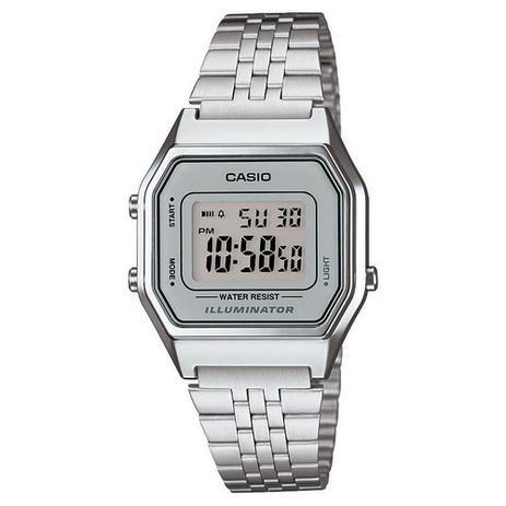 0834e564620 Relógio Feminino Casio Vintage Digital LA680WA-7DF - Relógios ...