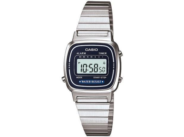 47fc4fe2e82 Relógio Feminino Casio Vintage LA670WA-2DF - Digital Resitente à Água com  Data