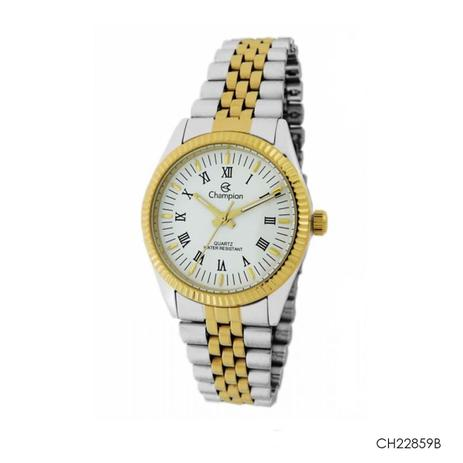 dfb7e0c8fd7 Relógio feminino champion analógico aço misto ch22859b - Relógio ...