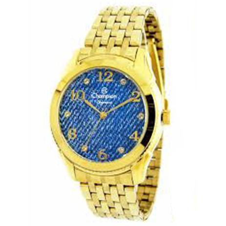 df8132753d6 Relógio Feminino Champion Dourado - cn26984a - Relógio Feminino ...