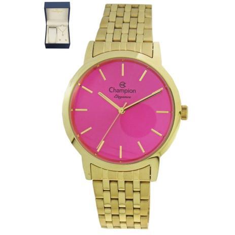 5320215c513 Relogio feminino champion dourado cn27732j - Relógio Feminino ...