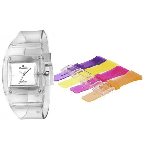 d1871b05cde Relógio Feminino Champion Troca Pulseiras CP28220S   93382 - Relógio ...