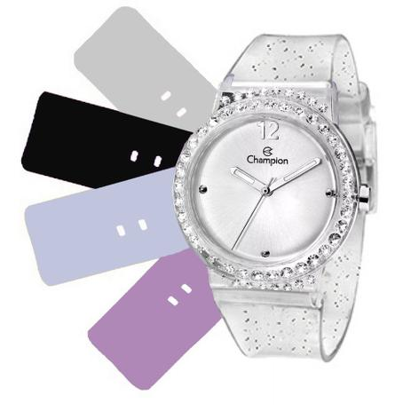 ba50f878d9a Relógio Feminino Champion Troca Pulseiras CP28275S   63731 - Relógio ...