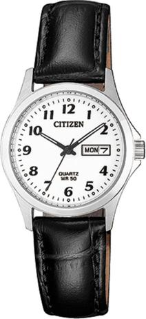 60c449ba448 Relógio Feminino Citizen TZ28520N 26mm Couro Preto - Relógio ...