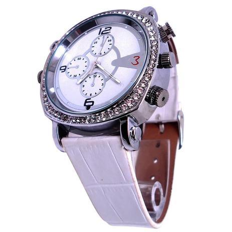 981cd4a38b9 Relógio Feminino com Câmera de Espionagem Integrada grava