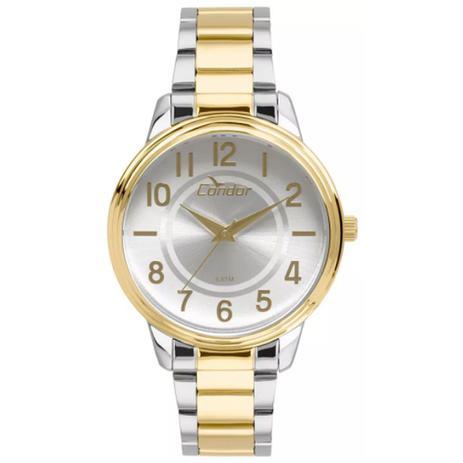 35947fb1574 Relógio Feminino Condo Anadigi CO2035KUV 5B - Prata Dourado - Condor ...