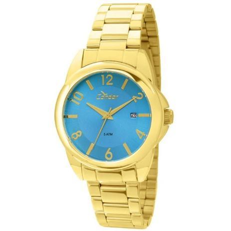 e24c574196a Relógio Feminino Condor Analógico CO2115SX 4A - Dourado Azul ...