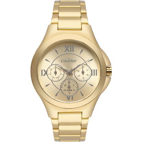 74e0f48d49 Relógio Feminino Condor Analógico CO6P29IU K4D Dourado - Relógio ...