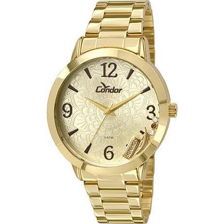 86cecfc2348 Relógio Feminino Condor Analógico Fashion Co2036cm 4x - Relógio ...
