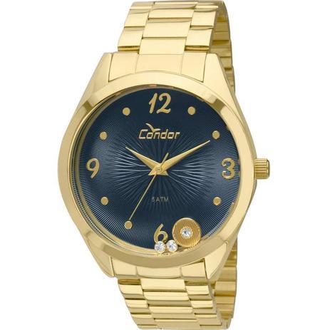 2738e04b343 Relógio Feminino Condor CO2036KOT 4A - Dourado - Relógio Feminino ...