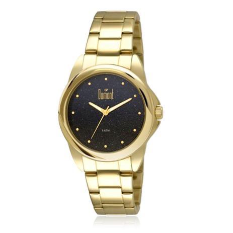3d7cb2f8cc614 Relógio Feminino Dumont Analógico 2035LNU 4A Dourado - Relógio ...