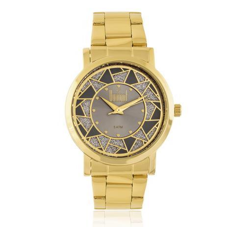 a30ed863fa4 Relógio Feminino Dumont Elements DU2036LTN 4C Dourado - Relógio ...