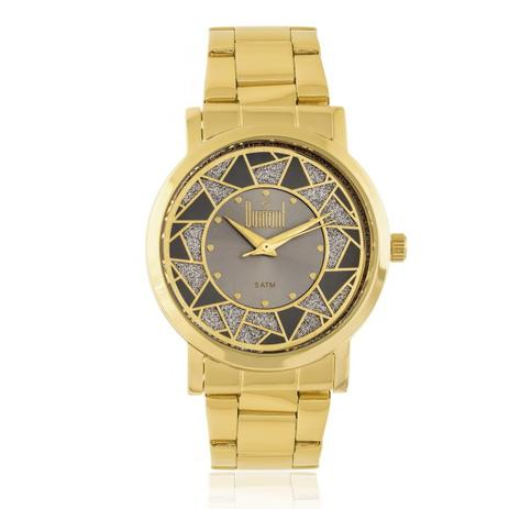 7b8d7d9d53f Relógio Feminino Dumont Elements DU2036LTN 4C Dourado - Relógio ...