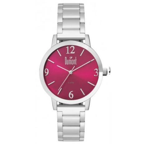 efba2868b4b Relógio Feminino Dumont London DU2035LWA 3K Prata - Relógio Feminino ...