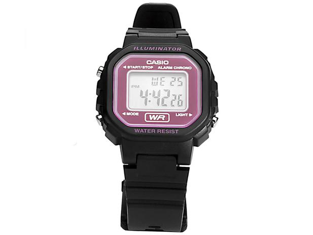 69aa2edd9a6 Relógio Feminino Esportivo Digital - Casio - LA-20WH-4ADF - Relógio ...