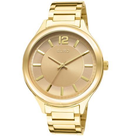 997108ab9f276 Relógio Feminino Euro Analógico Casual EU2035LQY 4M - Relógio ...