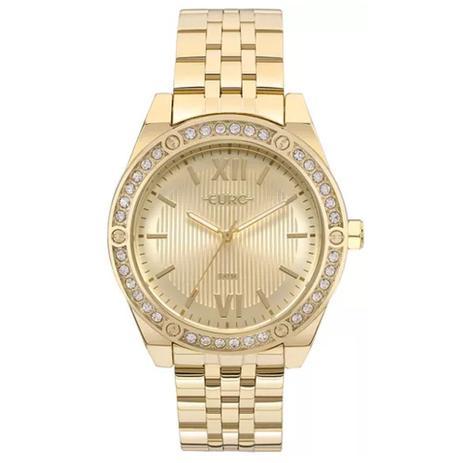 8e59f7840e3 Relógio Feminino Euro Analógico EU2035YNO 4D - Dourado - Relógio ...