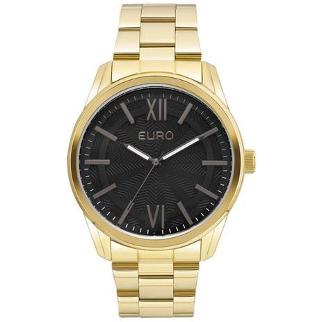 2afe8c3f9de Relógio Feminino Euro Metal Glam EU2036LYB 4F Dourado - Relógio ...