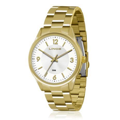 9359790391b Relógio Feminino Lince Analógico LRG4309L B2KX Dourado - Relógio ...