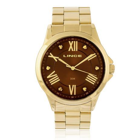 81f4390bd9e Relógio Feminino Lince Analógico LRGJ046L N3KX Dourado - Relógio ...