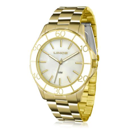 a937eb7dae9 Relógio Feminino Lince Analógico LRGJ067L B1KX Dourado - Relógio ...