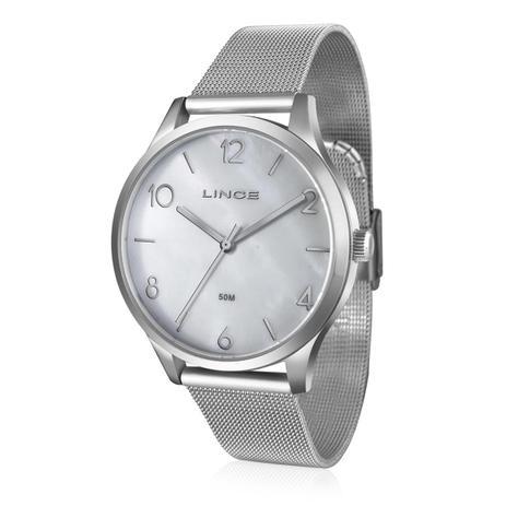 4a7f21a8562 Relógio Feminino Lince Analógico LRM4394L B2SX Aço - Relógio ...