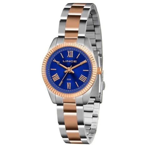 1180613ec45 Relógio Feminino Lince Clássico Lrt4492l D3sr - Prata Rosê - Relógio ...